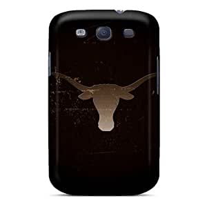 Perfect Cell-phone Hard Covers For Samsung Galaxy S3 (wQE15658qbef) Customized High-definition Texas Longhorns Skin