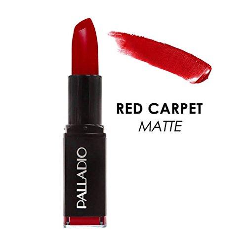 (Palladio Herbal Matte Lipstick, Red Carpet, Creamy and Full Coverage Long Lasting Matte Lipstick)