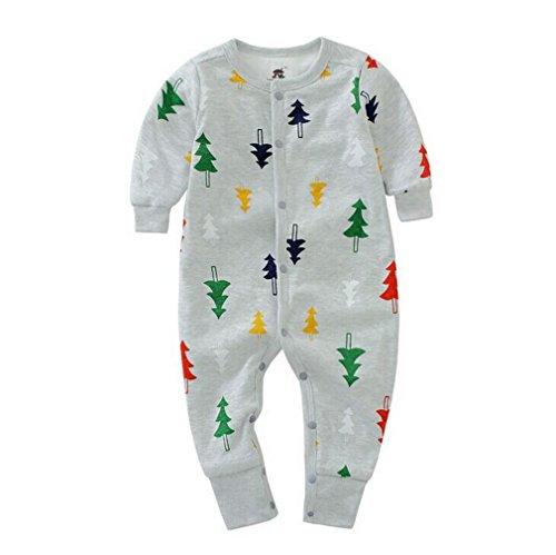 Fille Pour Acvip Boutons Garçon Couleurs En Coton Combinaison Style Grenouillère Manches Bébé Avec Longues 7 Pyjama 2 Costume vq7rv