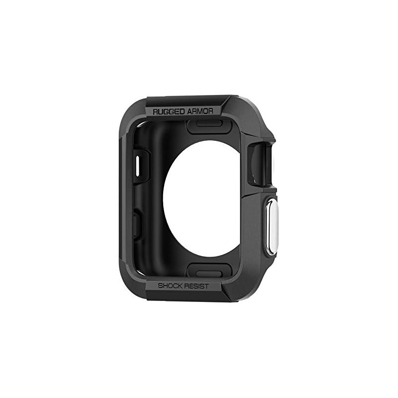 Spigen Rugged Armor Apple Watch Case wit