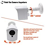 Mounting Set for Wyze Cam (1 pcs White) - Outdoor