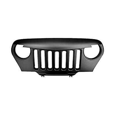 IPARTS Front Grille for Jeep Wrangler TJ 1997-2006 Rubicon Sahara Sport