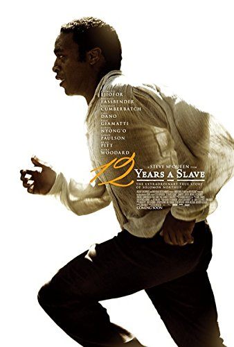 Decor 12 Years A Slave Canvas Movie Poster 24X36 Inches