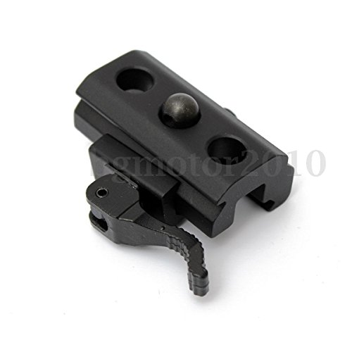 (KaleidoScope) Quick Release QD Bipod Sling Adapter Mount For 20mm Scope Picatinny Rail Hunting -