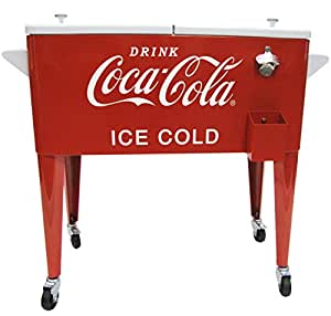 leigh country cp 98119 coca cola metal ice. Black Bedroom Furniture Sets. Home Design Ideas