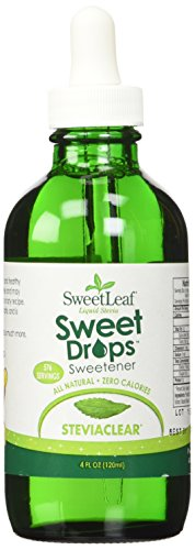 SWEET LEAF LIQ STEVIA,CLEAR,120ML, 4 FZ