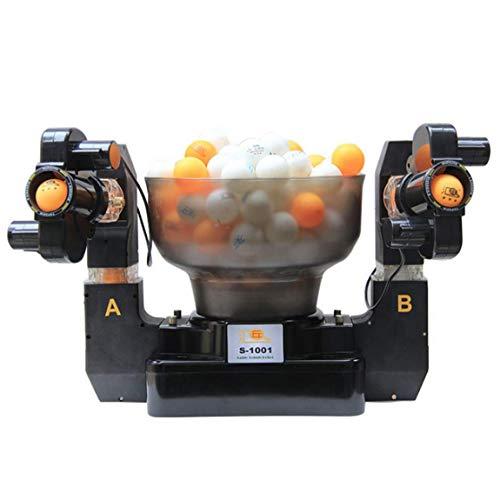 ADDG Entrenador de Tenis de Mesa Robot de Doble Extremo 36-Spinning Tenis de Mesa automática máquina de Entrenamiento de Tenis de Mesa por ADDG