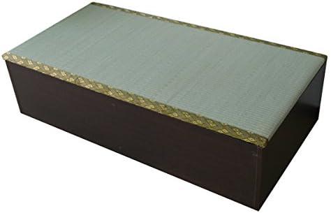 ユニット畳 1畳タイプ 高床式 高床式ユニット畳 畳収納 畳ボックス 置き畳 い草 イ草 日本製 国産 小上がり 下収納 和風 モダン IS002DBR