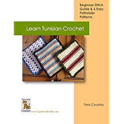 Learn Tunisian Crochet (Tiger Road Crafts) (Volume 2)