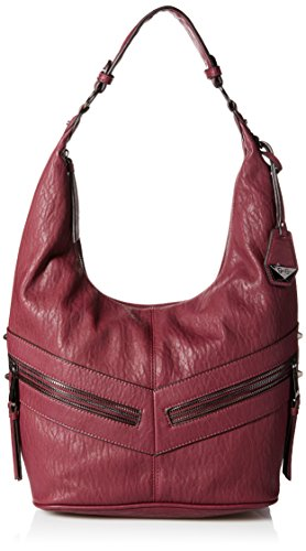 Jessica Simpson Hudson Hobo Bag - Maroon - One Size