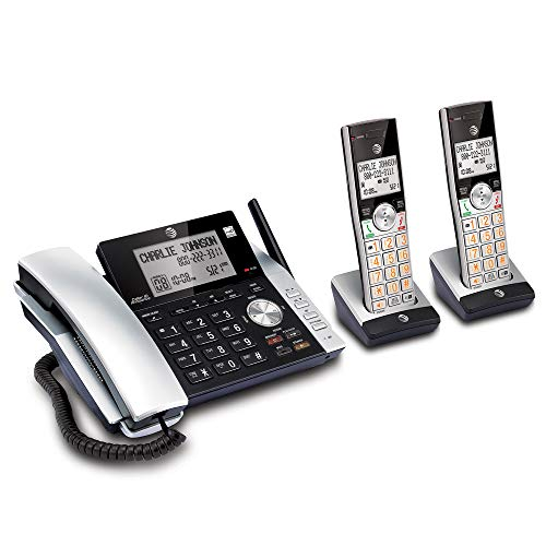 AT&T CL84215 Dect 6.0 Expandable Cordless Phone System W/Digital Answering from AT&T