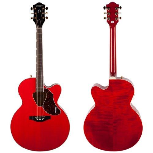 Cutaway Gretsch Guitar (Gretsch G5022CE Rancher Jumbo Cutaway Acoustic-Electric Guitar - Savannah Sunset)