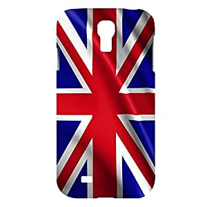 linfenglinUK United Kingdom Snap on Plastic Case Cover Compatible with Samsung Galaxy S4 GS4