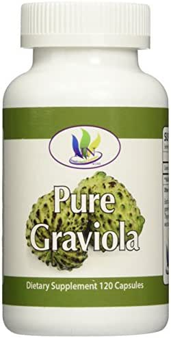 Fresh Health Nutritions Graviola 120 Capsules Bottle, 1300 mg