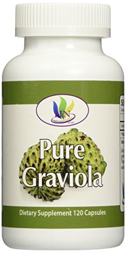 Fresh Health Nutritions Graviola 120 Capsules Bottle, 1300 mg, 4 Ounce