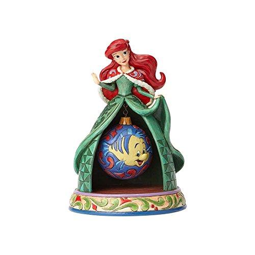 (Jim Shore Disney Traditions by Enesco Ariel Xmas)