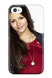 New Arrival Victoria Justice FzIazYF12375tLDsM Case Cover/ 4/4s Iphone Case