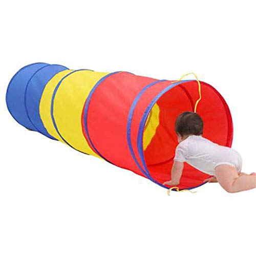 - 6 Foot Adventure Play Tunnel Play Tunnel Kids Tent Children Pop-up Toy Tube