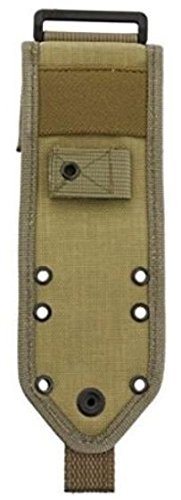 ES42MBK-BRK ESEE-5 Molle Back Sheath Khaki (Back Sheath)