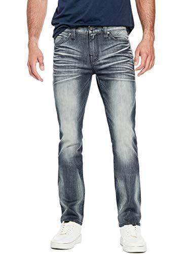 GUESS Factory Men's Delmar Slim Straight Jeans ()
