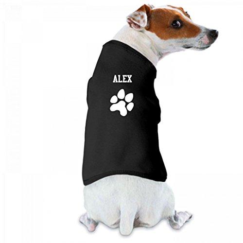 Dog Paw Print Tee Alex: Doggie Skins Dog Tank Top (Tee Alex)