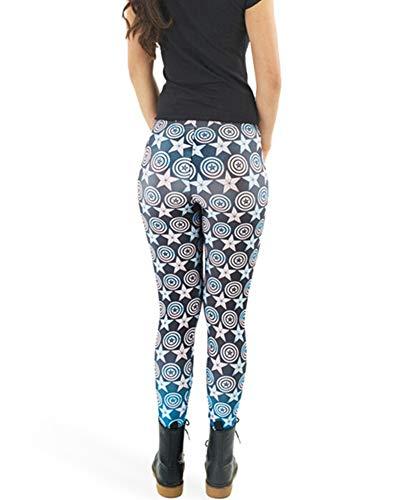 Abchic leggings multicolor mujeres de 16 rwrCq5