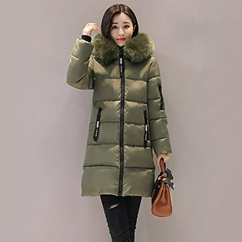 Moyen Doudoune Femmes La Pour Vige Capuche Coton Chaud Rembourré À Style D'hiver Épais Coréen Armée Allumette Xl Manteau Vert Mode Tout Hiver gWqWFaPSn