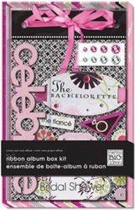 Me & My Big Ideas 5x7 Ribbon Album Kit: Bachelorette ()