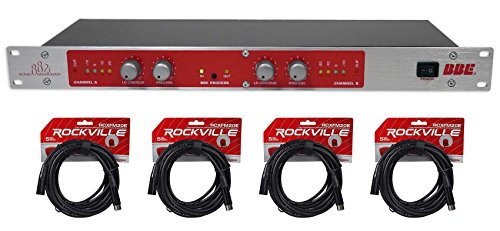 (BBE 882I Pro Rack Mount Studio Sonic Maximizer Signal Sound Processor+XLR Cables )