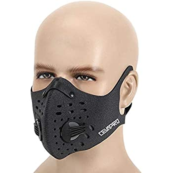 26523ef2ea2 Amazon.com  Techno Anti-Pollution Mask - medium  Sports   Outdoors