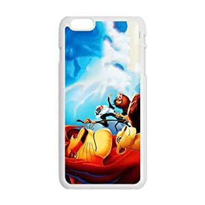 Forest King Lion White iPhone plus 6 case