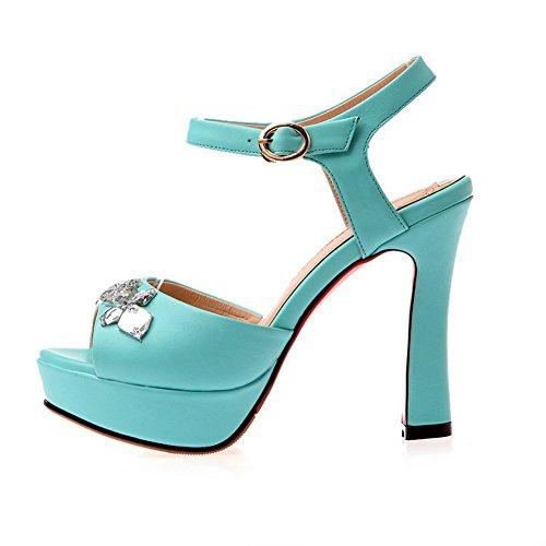 Blue Sandals Rhinestones Adee Ladies Polyurethane Sole Outdoor Slipper xY0wPqBwR