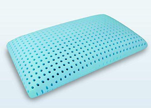Blu Sleep Products Blu Sleep Ice Gel Memory Foam Pillow with Cover Queen