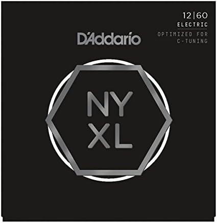 D Addario NYXL Extra Heavy cuerdas para guitarra eléctrica (12 ...