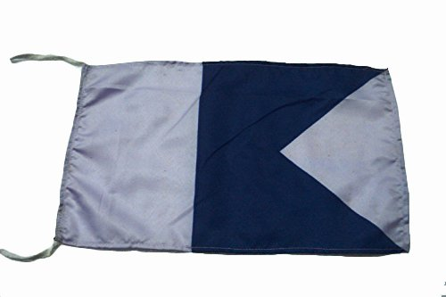 A - International Code Naval Signal Flag - 8