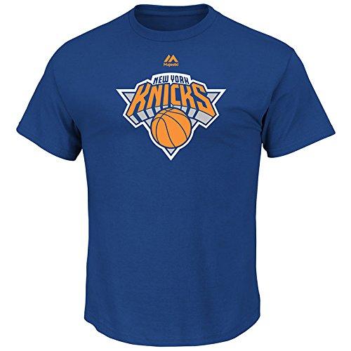 Majestic Athletic Mens Logo II Short Sleeve Crew Neck Tee - New York Knicks, Size S