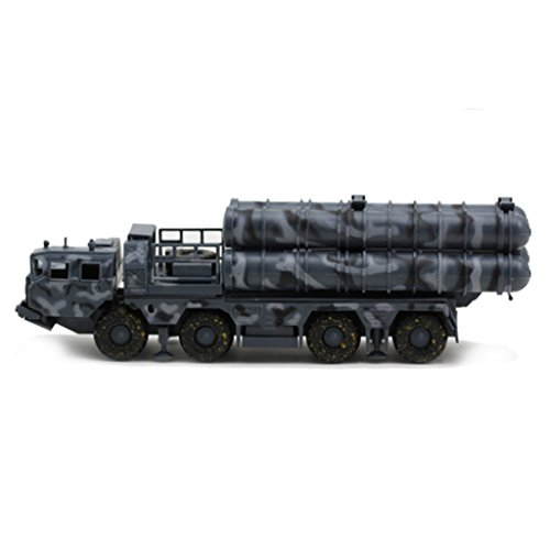 MonkeyJack Missile Armored Truck Vehicle Toy Soldier Army Men 1:72 Figures Blue