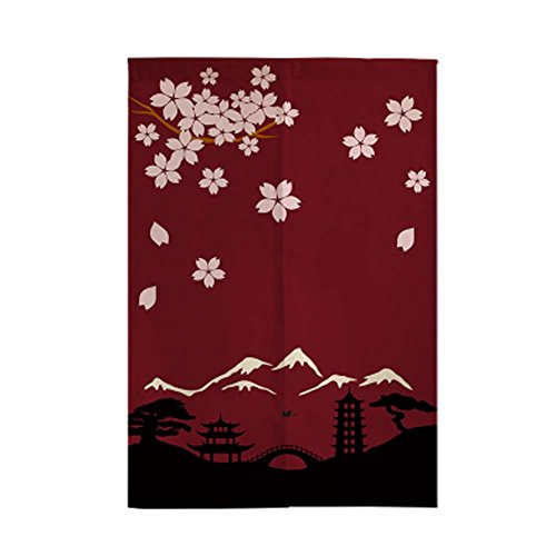 George Jimmy Delicate Door Curtain Japanese Restaurant Kitchen Curtain Hotel Sushi Bar Decoration, 07 by George Jimmy