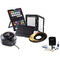 Datacolor Spyder5 Elite USB Colorimeter with Desktop Cradle, Software CD - Bundle With X-Rite Digital Colorchecker Passport, Adorama Cleaning Kit