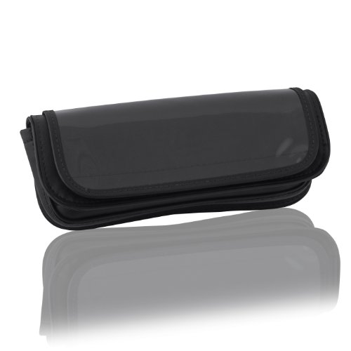 Hopnel Windshield - Hopnel (Y60-412BKC Single Pouch with Clear Pocket