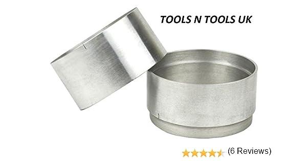 Anillos de calidad 100 mm aluminio 2 Parte Hornear para Delft arcilla peterobond Sand casting: Amazon.es: Hogar