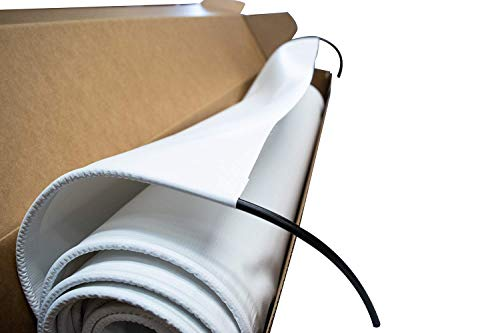 Universal Slide Out Awning Replacement Fabric-White 200 Cut to Fit Your Slide-Out