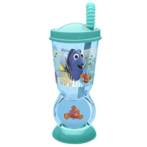 Zak Designs Finding Dory 9 oz. Spin Tumbler with Lid, Nemo