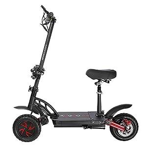 Trottinette électrique Adultes et Ados G-Booster Electrique Scooter – Vitesse maximale : 55 km/h, Puissance du Moteur : 2 x 800 W, Bandage pneumatique