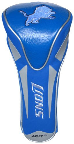 Team Golf NFL Detroit Lions Golf Club Single Apex Driver Headcover, Fits All Oversized Clubs, Truly Sleek Design