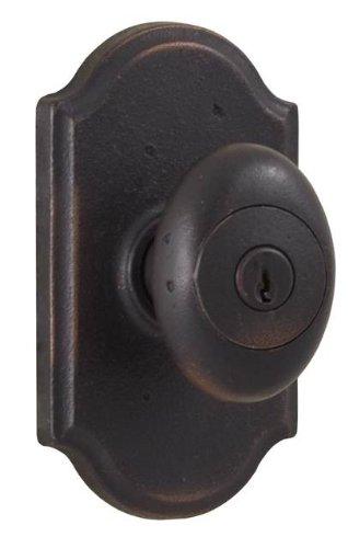 (Weslock 07140M1M1SL23 Durham Knob, Oil-Rubbed Bronze)
