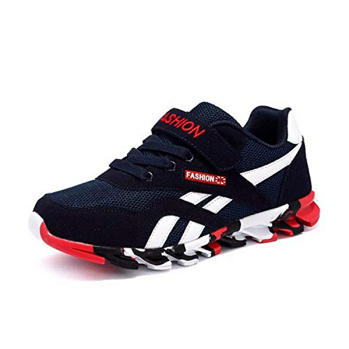 Autumn Children Shoes Boys Casual Outdoor Breathable Kids Running Shoes Boy Running Shoes,Navy ()