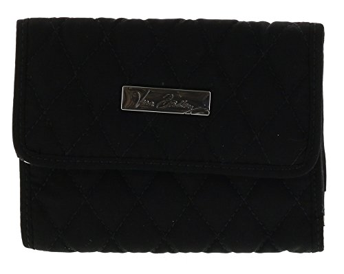 Vera Bradley Euro Wallet Clutch Purse in Classic Black