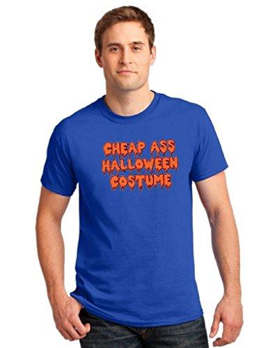 icustomworld Halloween T-shirt Cheap Ass Halloween Costume Hilarious Shirt S Blue (Hilarious Halloween Costumes For Couples)