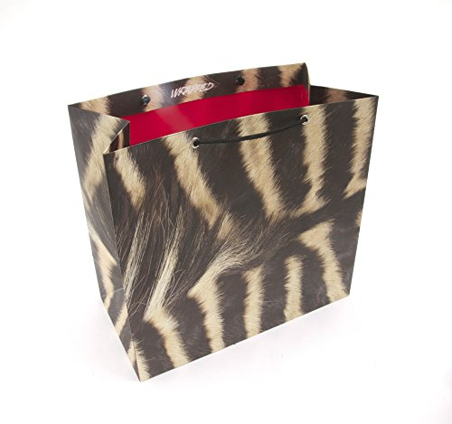 Wrapped Animal Style Gift Bag, 13 by 7 by 12.5-Inch by Wrapped